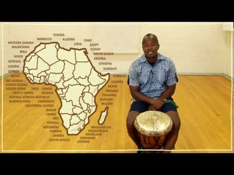 Five(ish) Minute Drum Lesson – African Drumming: Lesson 1: The Djembe