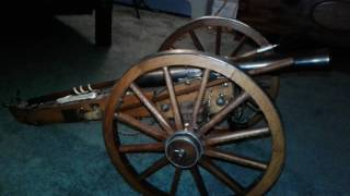 JUKAR cannon 70 caliber black powder. It shoots 70 caliber or just a loud bang. Made in the early 1970,s.
