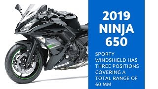 8. 2019 Kawasaki Ninja 650 Review