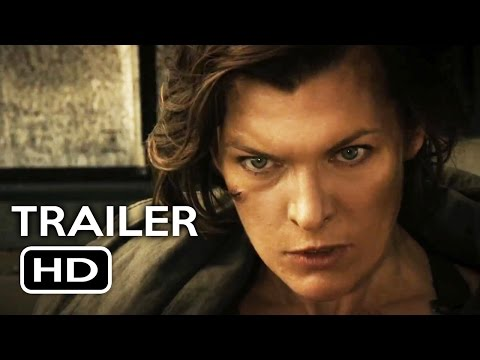 Resident Evil: The Final Chapter Official Trailer #1 (2017) Milla Jovovich Movie HD