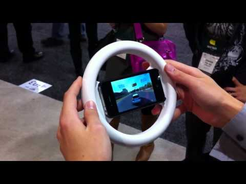 Clingo Universal Game Wheel for iPhone 4,3G/3GS