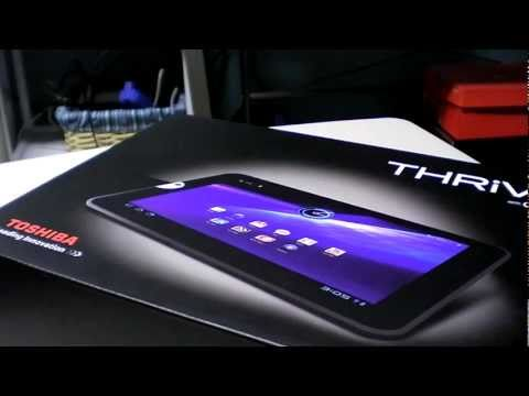 16GB Toshiba Thrive Unboxing