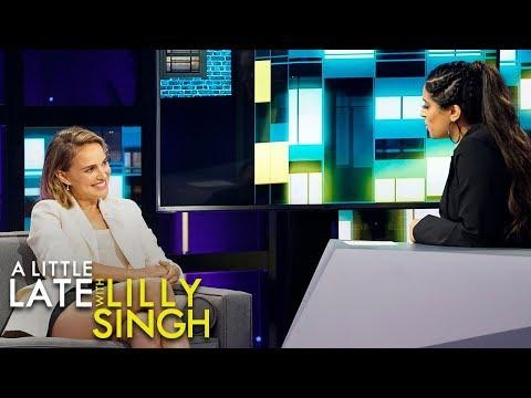 Natalie Portman Talks Britney Spears Friendship