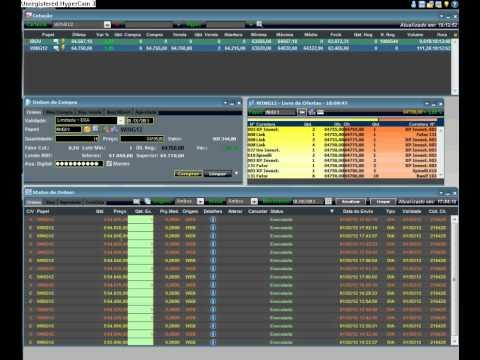 Daytrade ao vivo mini indice + de 600 pontos. (видео)