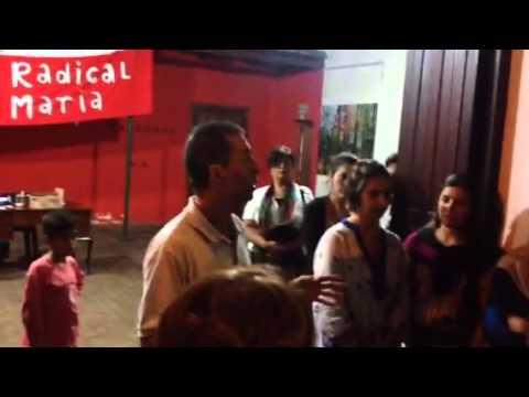 Luis Picat en el comité UCR Jesús María