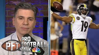 Why is Antonio Brown still taking shots at JuJu, Steelers? | Pro Football Talk | NBC Sports