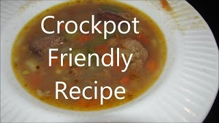 Old fashion Home style  Beef and vegetable soup by Louisiana Cajun Recipes