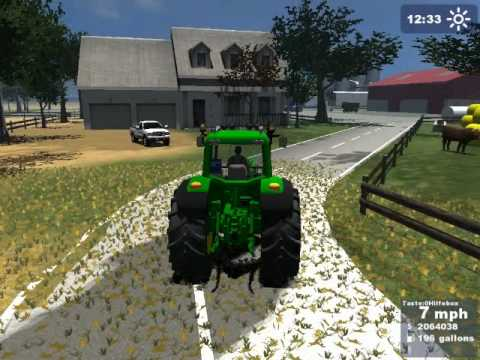 Farming Simulator 2009 Gold Edition, check out this ranch