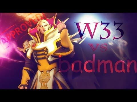 Dota 2 W33 8300 mmr  invoker VS Badman 8178 mmr - Spectre full game 8300 mmr