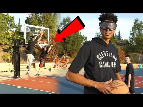 Most Embarrassing 1v1 Mini Basketball Game Ever...