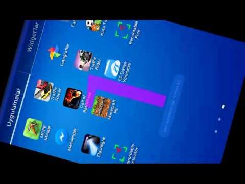 Minecraft ayarları yapımı (Android Tablet)