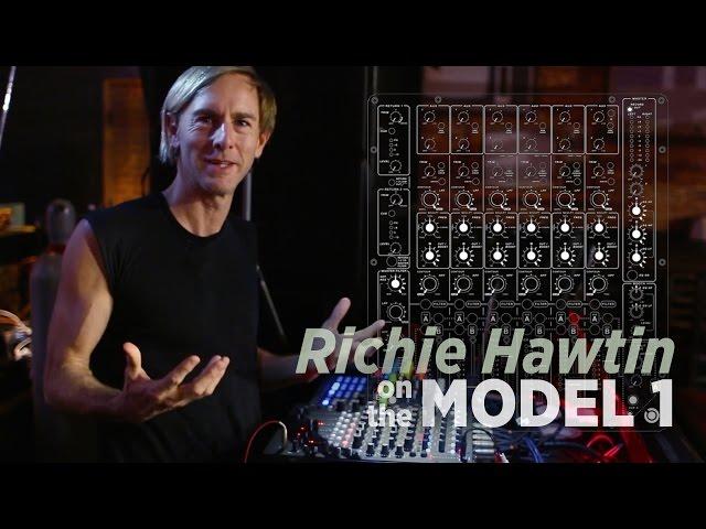 Richie Hawtin Explains PLAYdifferently's Model 1 Mixer