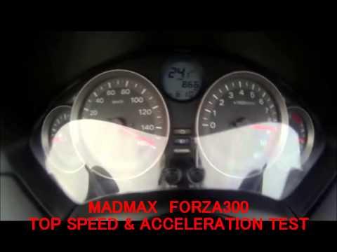 Honda Forza 300 (Nss300) 2013 Test Ride @Bonanza Curcuit Kao Yai