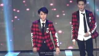 Download Lagu 140123 서가대 EXO (D.O. FOCUS) - Let out the beast+늑대와미녀(Wolf)+으르렁(Growl) Mp3