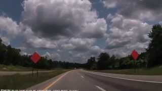 Central City (KY) United States  city images : East on Western Kentucky Parkway: Murray to Central City 2015-05-28