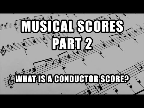 How to Approach a Score - Part II