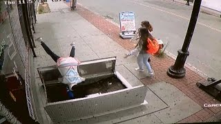 Woman, 67, Falls Into Basement of Building as She Texts And Walks