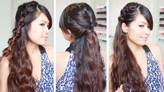 Hey guys! In this hair tutorial, I will show you how to do three quick and easy hairstyles using the new Infiniti Pro by Conair Diamond Brilliance Grooved Curling Wand. *Giveaway closed* The winner of the Conair Diamond Brilliance Grooved  Curling wand is.... *drum roll*... Victoria_riya (https://www.youtube.com/user/vic21ld) Congrats! Please message me with your full name and mailing address. To everyone else, thank you so much for participating in the draw. Stay tuned for more to come. ^_^♥ Hairstyles in this hair tutorial:1) Looped faux fishtail braid - This casual hairstyle is great if you love the look of fishtail braids but don't have time to them. 2) Twisted Half-up, Half-down hairstyle - This elegant hairstyle can be dressed up or down. Add some hair accessories and you can wear this look to proms and weddings.3) Pull-through side braid - This is one of my favorite lazy go-to looks. Create the braid on both sides if you want your hair out of your face.♥ Subscribe to my channel: http://bit.ly/sub2bebexo◆ If you decided to recreate any of these hairstyles on my channel, share your recreations with me on instagram and snapchat! My username is NEEBEBE for both accounts. See ya there! ^_^♥ Subscribe to my channel to be notified of new videos:http://www.youtube.com/user/bebexo?sub_confirmation=1♥ Learn how to do more hairstyles: http://www.youtube.com/playlist?list=PLD4D5DE6CCCF00AF4Connect with me:˙·٠•●●•٠·˙ ♥˙·٠•●●•٠·˙ ♥˙·٠•●●•٠·˙ ♥˙·٠•●●•٠·˙ ♥˙·٠•●●•٠·˙ ♥ Blog: http://www.justBebexo.com♥ Instagram: @neebebe♥ Twitter: http://twitter.com/justBebexo♥ Facebook: http://facebook.com/justBebexo♥ Google+: http://google.com/+Bebexo˙·٠•●●•٠·˙ ♥˙·٠•●●•٠·˙ ♥˙·٠•●●•٠·˙ ♥˙·٠•●●•٠·˙ ♥˙·٠•●●•٠·˙Get all the latest beauty tips from Conair Beauty and #ConairBeautyBoard by liking their Facebook page  http://www.facebook.com/Conairbeauty♥ Conair Links- Instagram: @Conair- Twitter: http://twitter.com/ConairBeauty- http://www.conair-store.com- http://www.youtube.com/convideo123- https://www.pinterest.com/conairbeauty* This video was made in collaboration with Conair.