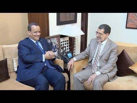 تعزيز التعاون محور مباحثات رئيس الحكومة ووزير الخارجية الموريتاني