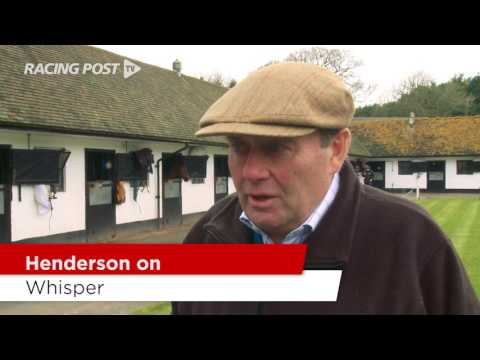 Cheltenham Stable Tour: Nicky Henderson On His Chasers