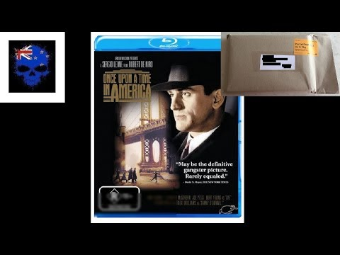 Once Upon A Time In America Blu-Ray Unboxing