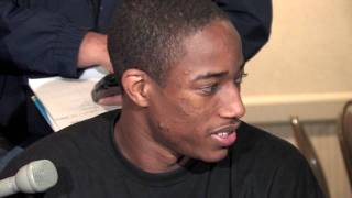 DeMar DeRozan Draft Combine Interview