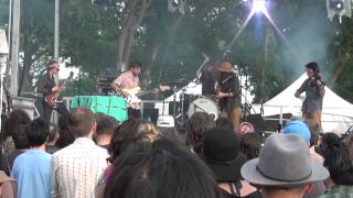 The Myrrors performing live at Levitation 2015, presented by Austin Psych Fest, at Carson Creek Ranch in Austin Texas on Sunday May 10, 2015.