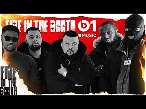 Fire In The Booth Special – Ambush, Headie One, K-Trap, Blade Brown
