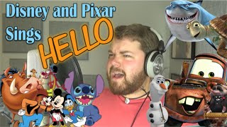 Video Disney and Pixar Sings Hello MP3, 3GP, MP4, WEBM, AVI, FLV Agustus 2018