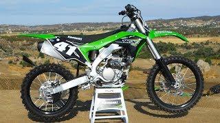 1. First Ride 2018 Kawasaki KX250F - Motocross Action Magazine
