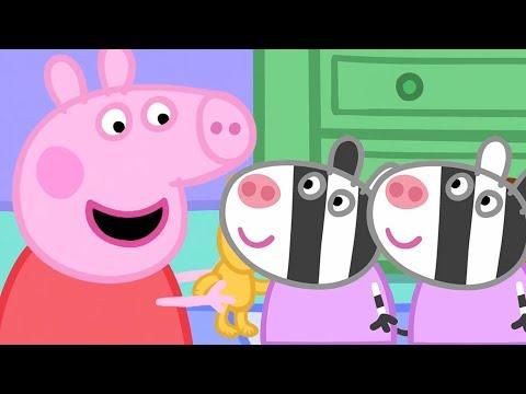 Peppa Pig en Español  Zaza y Zuzu!  1 Hora  Dibujos Animados