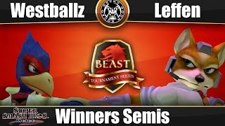 VOD: BEAST 6 – Tempo | Westballz (Falco) Vs. RB TSM | Leffen (Fox) – Winners Semis
