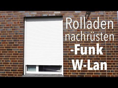 Rolladen Motor umrüsten auf Funk / W-lan   Anleitung deutsch Somfy / Simu & LiveIn