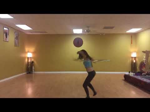 Hoopdance.. more footwork
