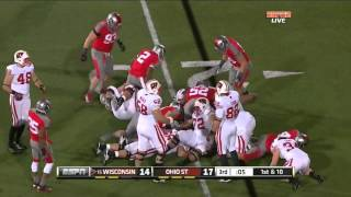 Montee Ball vs Ohio State (2011)
