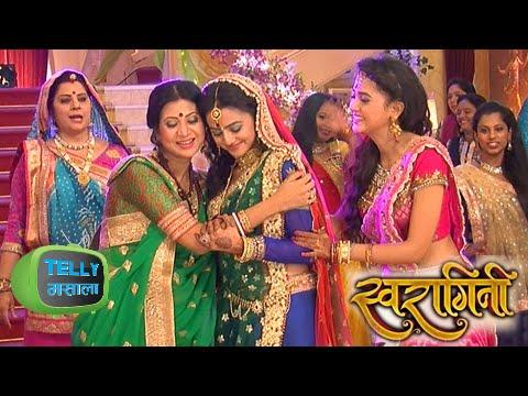 Video OMG! Sanskar Makes Swara Have Drugs On Her Sangeet Ceremony | Swaragini download in MP3, 3GP, MP4, WEBM, AVI, FLV January 2017