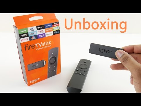 Amazon Fire TV Stick with Voice Remote - Unboxing and Setup