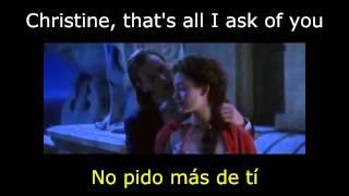 all i ask of you  subtitulada español e Ingles