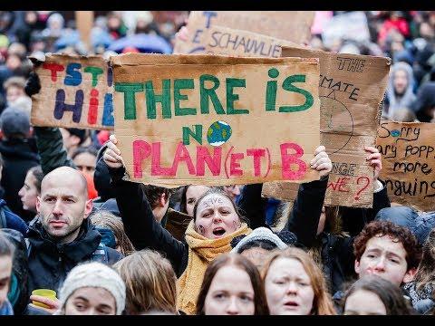 Belgien: Marsch für das Klima - »Hört auf zu leugnen, dass die Erde stirbt«