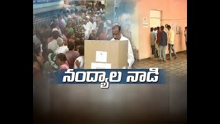 Nandyal by poll ends women voters in majority at polling booths 80 polling registered