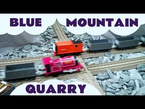 thomas and friends trackmaster blue mountain mystery