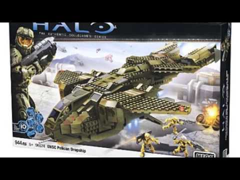 Video New product video released online for the Halo Unsc Pelican Dropship