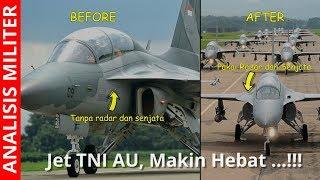 Download Video Makin Hebat, Indonesia Pasang Radar Dan Senjata Pesawat Tempur T-50i Golden Eagle MP3 3GP MP4