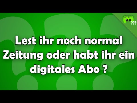 Lest ihr noch normal Zeitung ? - Frag PietSmiet ?!