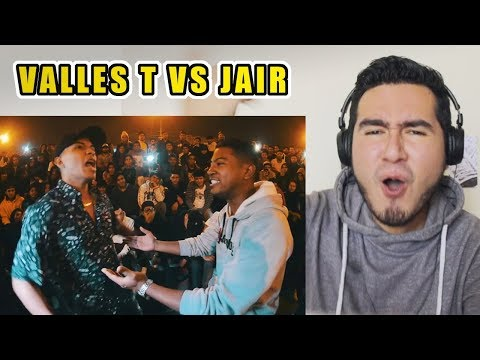 ÉPICA BATALLA CALLEJERA | Valles T VS Jair (Final Código Internacional) | VIDEO REACCIÓN