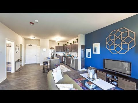 Tour a 1-bedroom model in Aurora at the new Metro 59 apartments