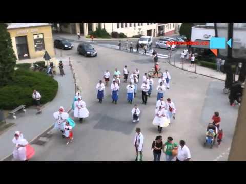 Krojované hody v Mikulově - 27.6.2015
