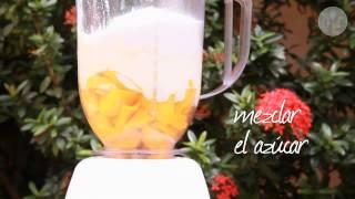Licuado de Mango (Mango lassi)