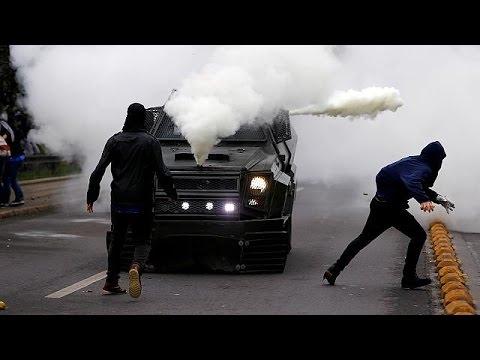Xιλή: Συγκρούσεις αστυνομίας και φοιτητών