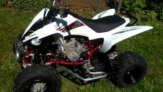 8. 2009 Yamaha Raptor 250 startup and idle